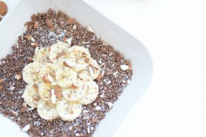 Porridge quinoa banane chocolat
