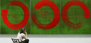 Fabienne Verdier et ses peintures de cercles représentant l'infini de la vie, pleine conscience, méditation
